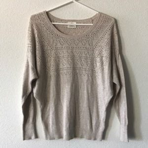 🍁🍂 Urban Outfitters Pointelle Sweater